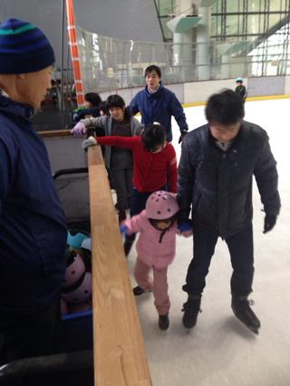 スケート 四苦八苦中です