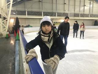 スケート満喫中