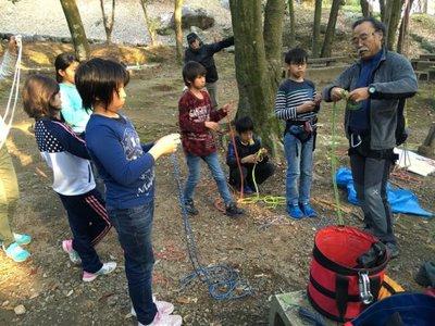ロープワーク教室