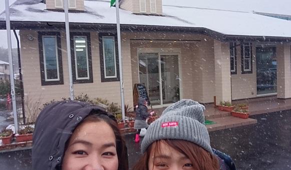 雪だ☆雪だ~☆
