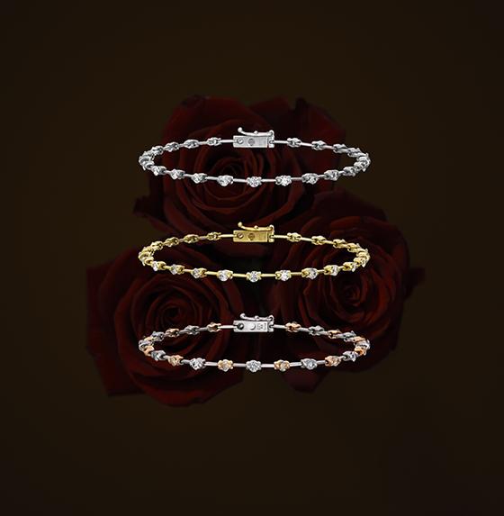 宝石サロン ナガホリではダイヤモンドラインもお取り扱いいたしております。
