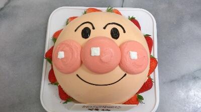 アンパンマン立体ケーキシリーズ
