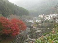 秘窯の里・大川内山の紅葉